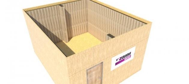 module bois pour salon professionnel